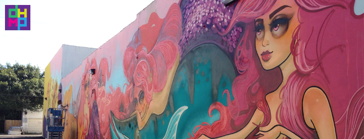 Hollywood community redevelopment agency fl tatiana suarez for Downtown hollywood mural project