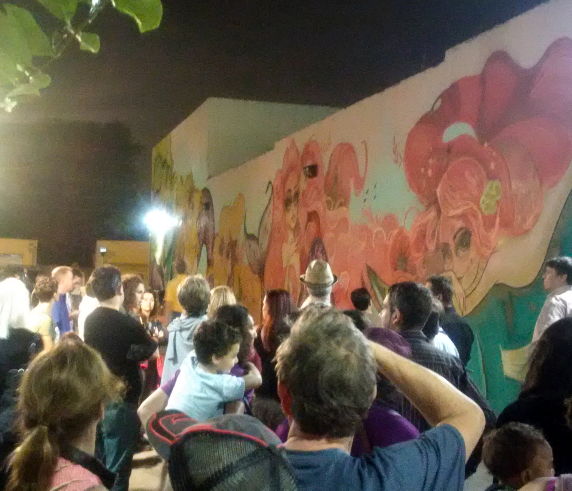 Hollywood community redevelopment agency fl mural tour for Downtown hollywood mural project