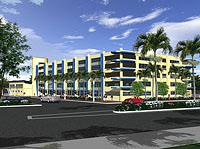 Field Street Parking Garage And Community Center